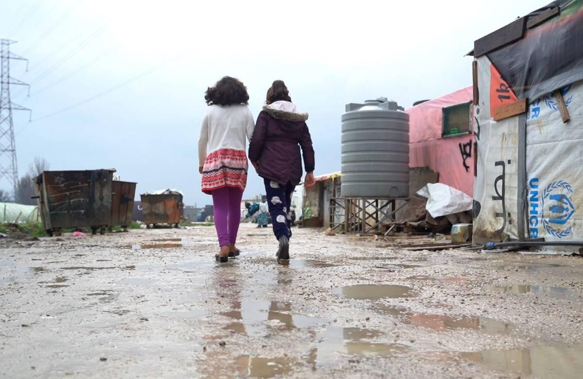 Unicef: in Libano 40.000 bambini a rischio per le tempeste invernali