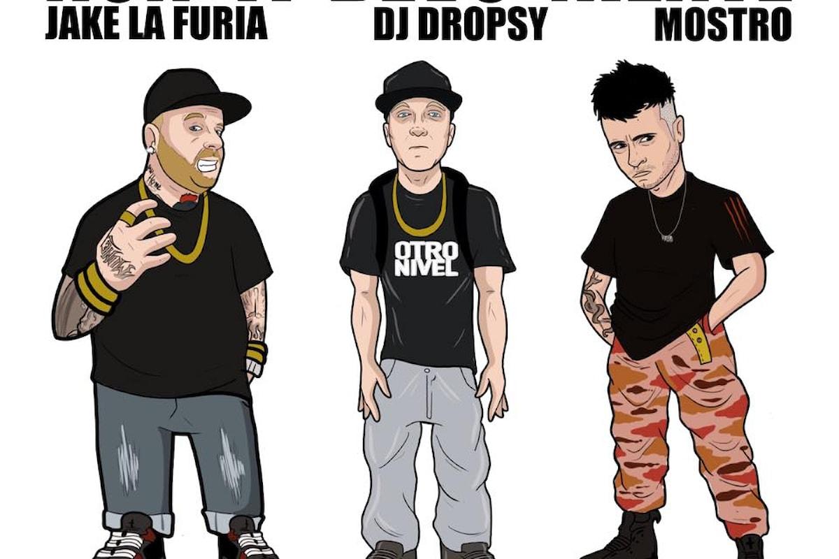 Dj Dropsy, Jake La Furia, Mostro: Non ti devo niente (Touch Down Records) esce l'11 gennaio 2019
