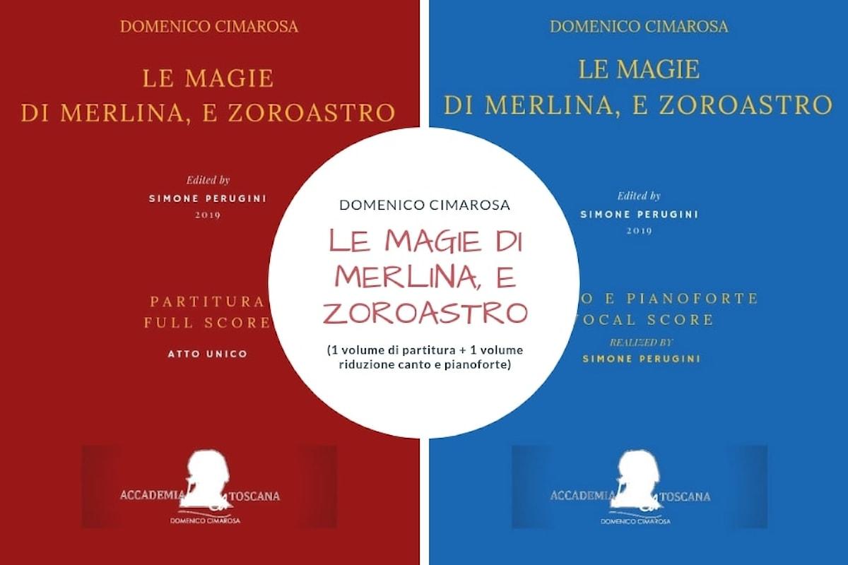 Nuova edizione critica di un'opera lirica inedita di Domenico Cimarosa