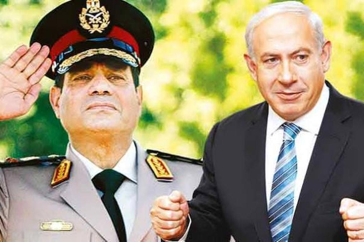 Al-Sisi annuncia una più stretta cooperazione con l'esercito israeliano