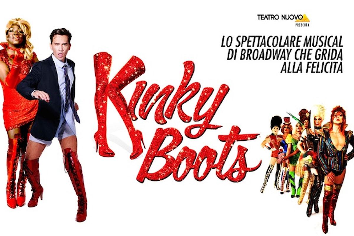 Kinky Boots saluta Milano dal Teatro Nuovo