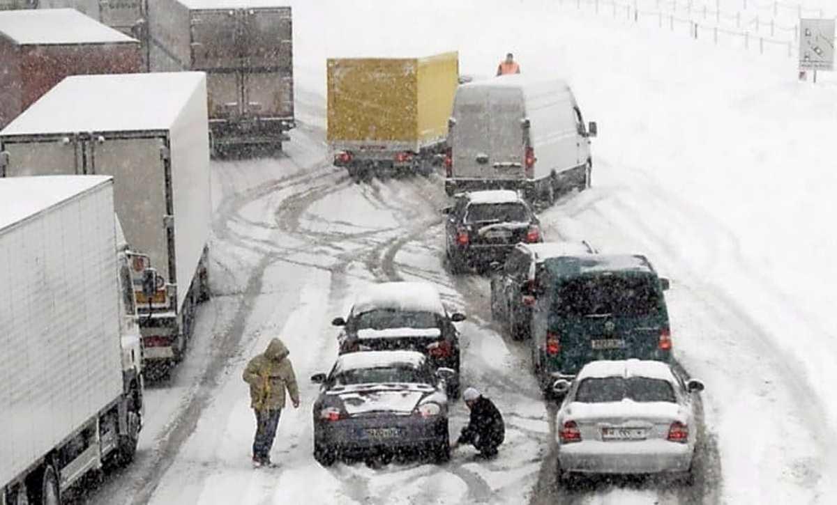 Neve e pioggia su gran parte dell'Italia nel weekend tra il 2 e il 3 febbraio