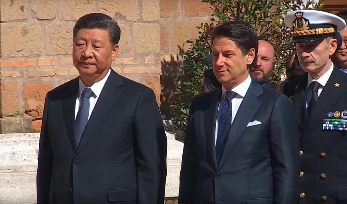 Firmato a Villa Madama l'accordo con la Cina sulla via della seta