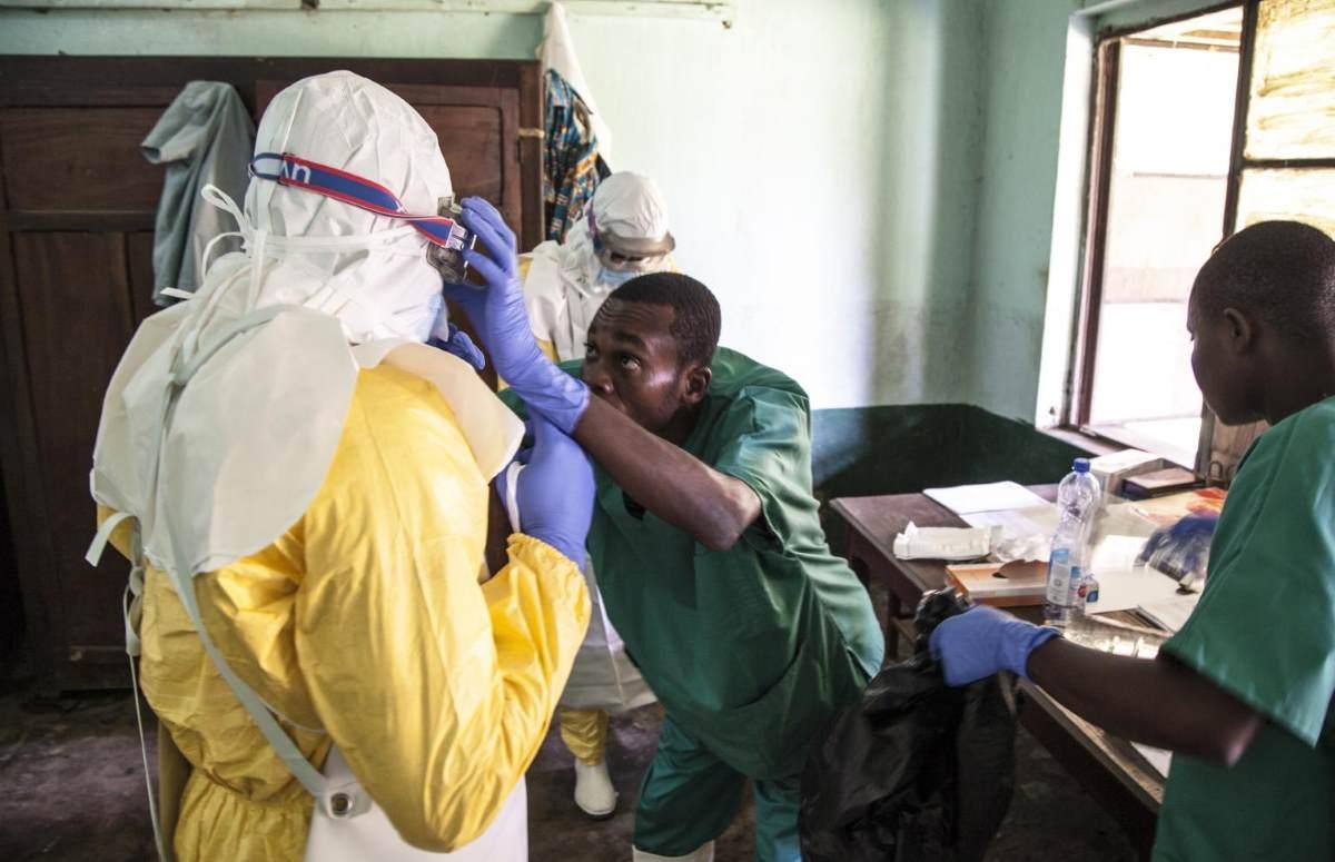 Si allarga l'epidemia di ebola nella Repubblica Democratica del Congo