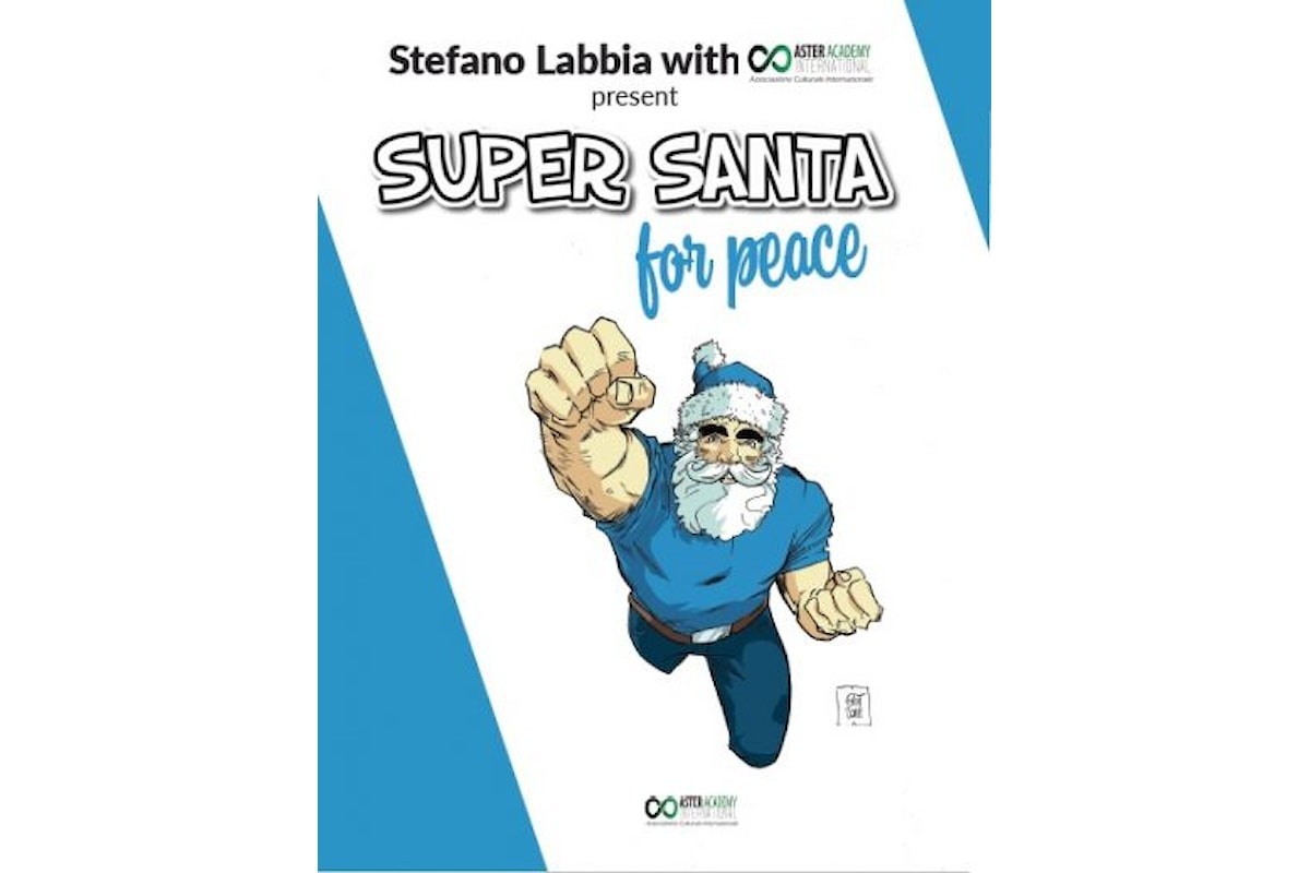 Super Santa For Peace un comics per beneficenza
