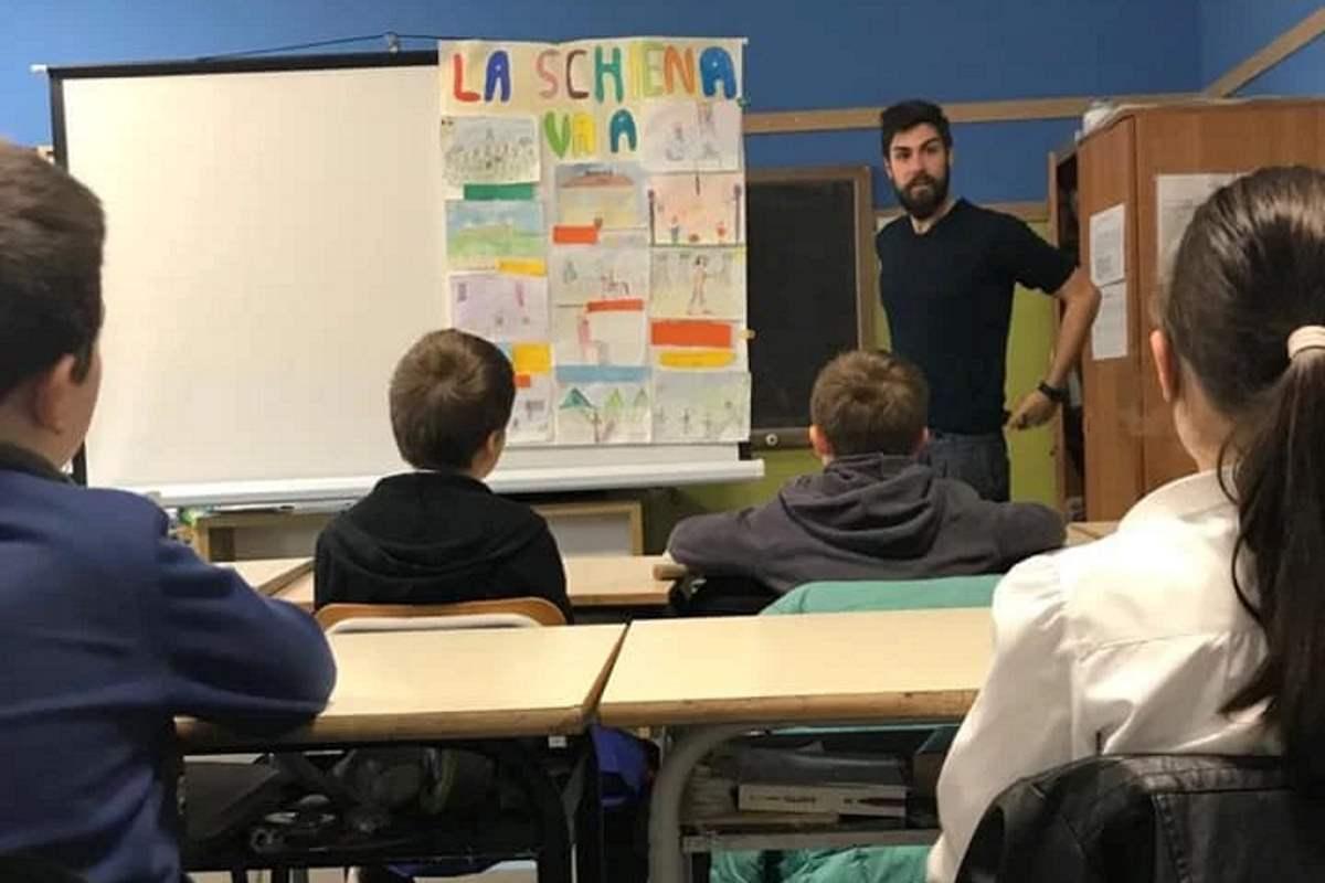 Non solo matematica o storia: a Cerreto Laziale ai ragazzi si insegna a tenere la schiena dritta!