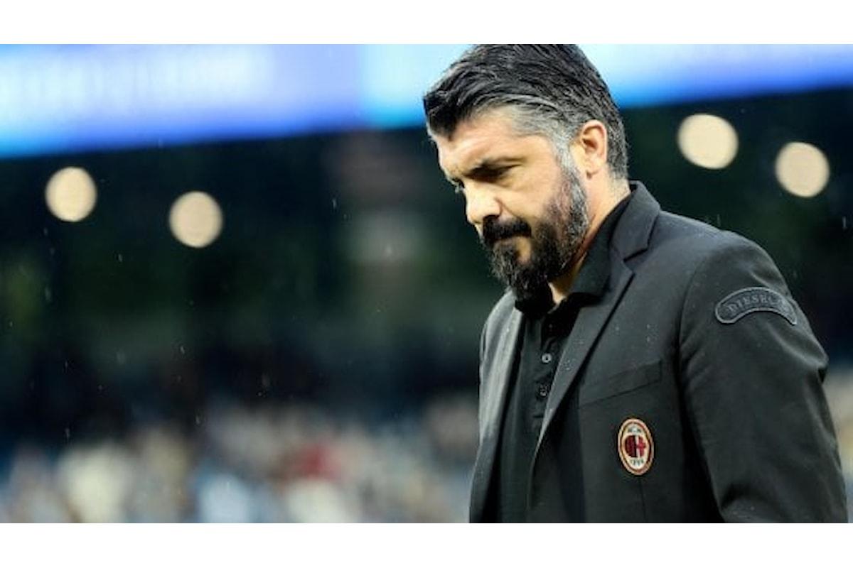 Le dimissioni di Gattuso hanno un solo significato: il Milan rischia di diventare una provinciale