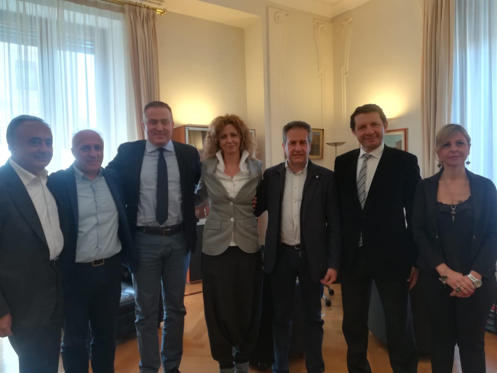 Strategia SNAI. Pietro Macaluso e i sindaci della Federazione Nazionale Aree Interne incontrano il Ministro Lezzi