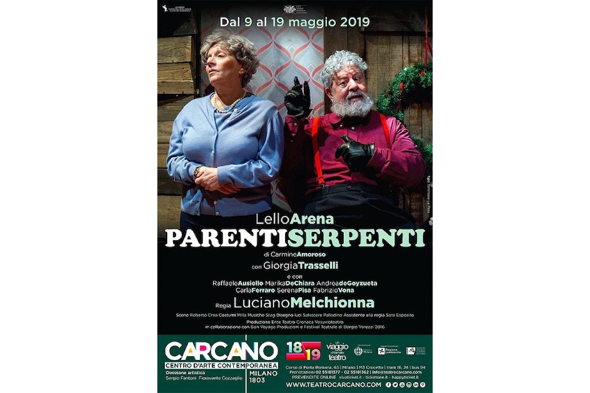 Parenti Serpenti al Teatro Carcano fino al 19 maggio