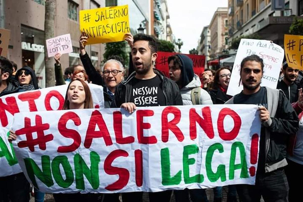 Da terroni di mer.. a cioccolatini al rum, Salvini a Salerno per liberare la Campania
