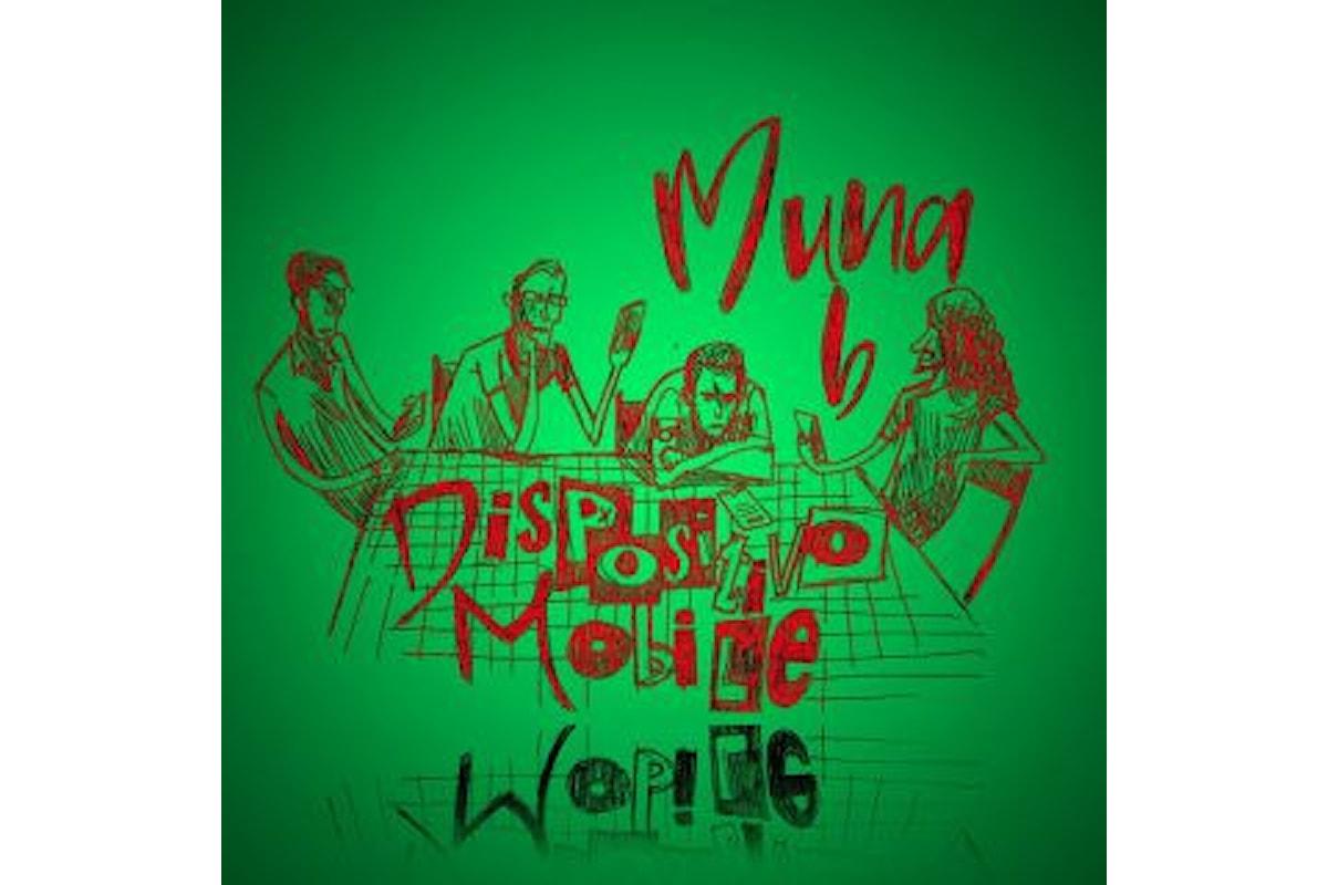 """Muna∞b, """"Dispositivo mobile"""" è il nuovo singolo del cantautore rock palermitano"""