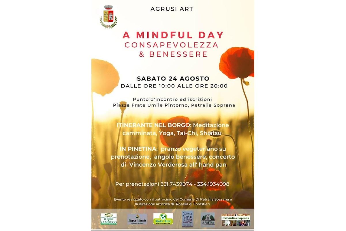 """Petralia Soprana: Sabato """"A Mindful Day"""", la giornata della consapevolezza e del benessere nel Borgo più bello d'Italia"""