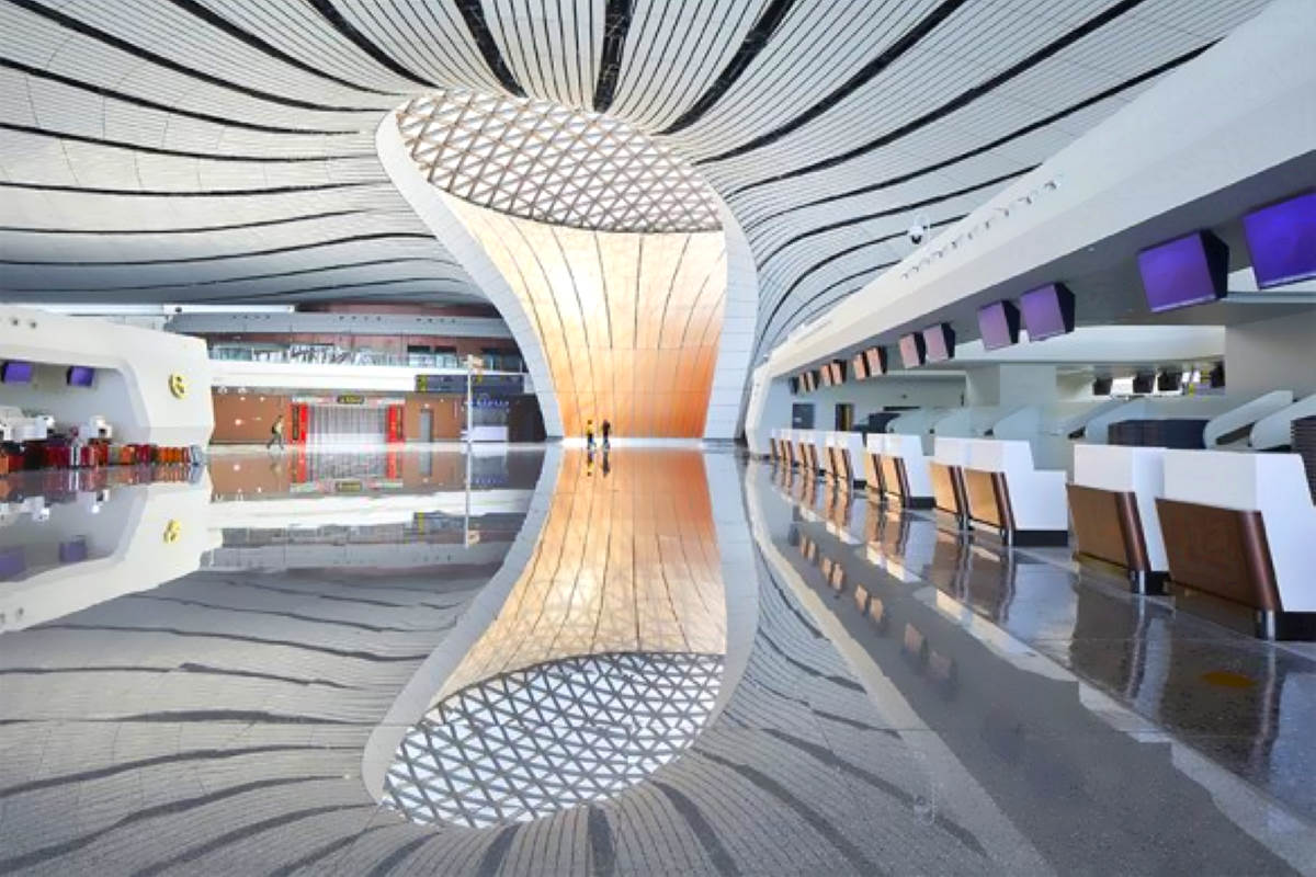 Inaugurato mercoledì a Pechino l'aeroporto di Daxing, per estensione il più grande scalo al mondo