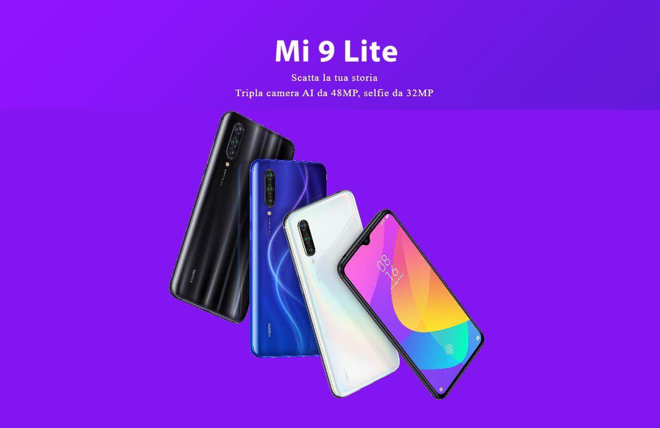 Xiaomi Mi 9 Lite, ufficialmente in Italia la versione globale dello Xiaomi CC9