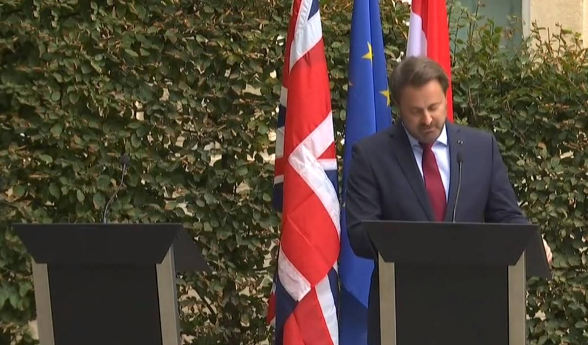 Johnson in Lussemburgo non si presenta in conferenza stampa, il premier Bettel lo demolisce