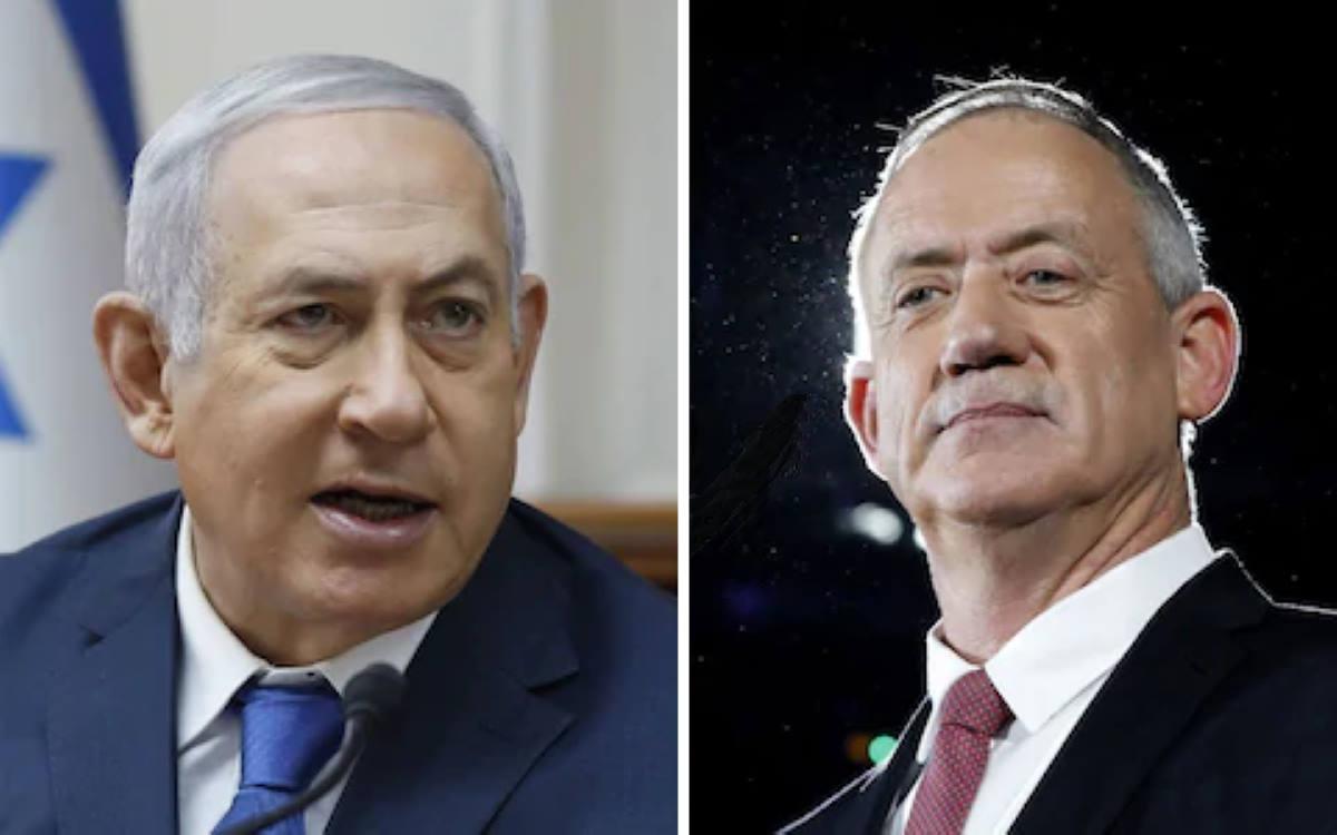 Israele, Gantz e Netanyahu si sarebbero accordati per formare un governo di unità nazionale