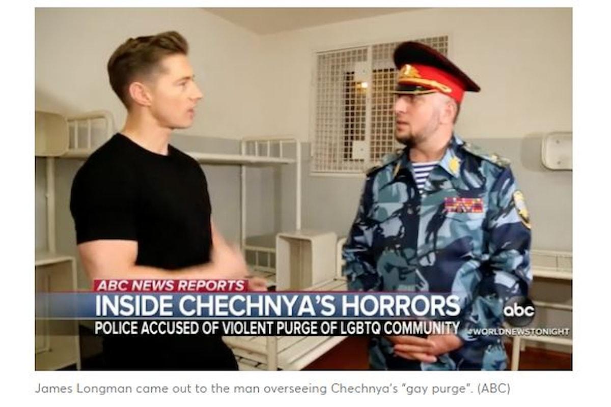 Giornalista della ABC intervista il Capo della Polizia cecena per le purghe ai gay