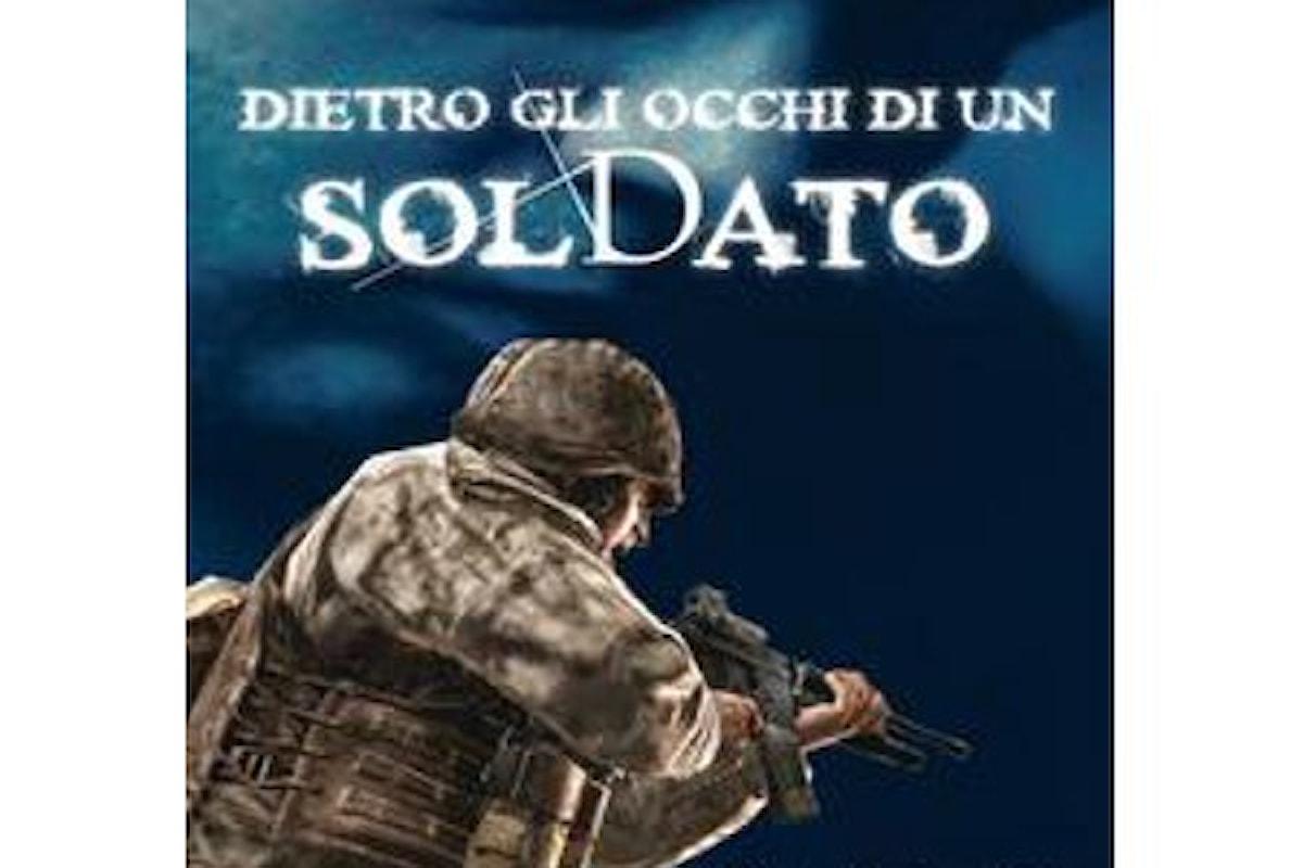 Intervista a cura di Marcello Mallardo, giornalista, allo scrittore romano Mirko Giudici, autore del romanzo Dietro gli occhi di un soldato