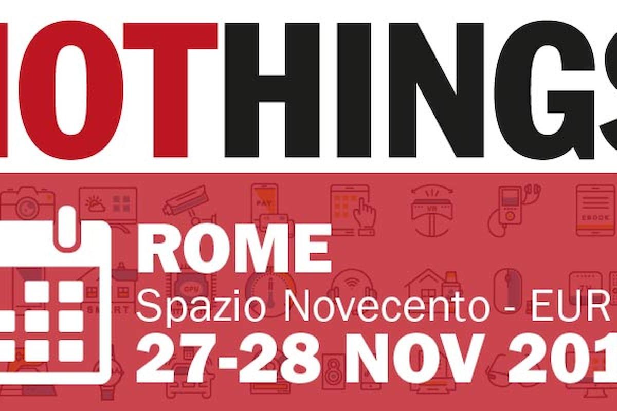 In arrivo la nuova edizione di IoTHINGS ROME