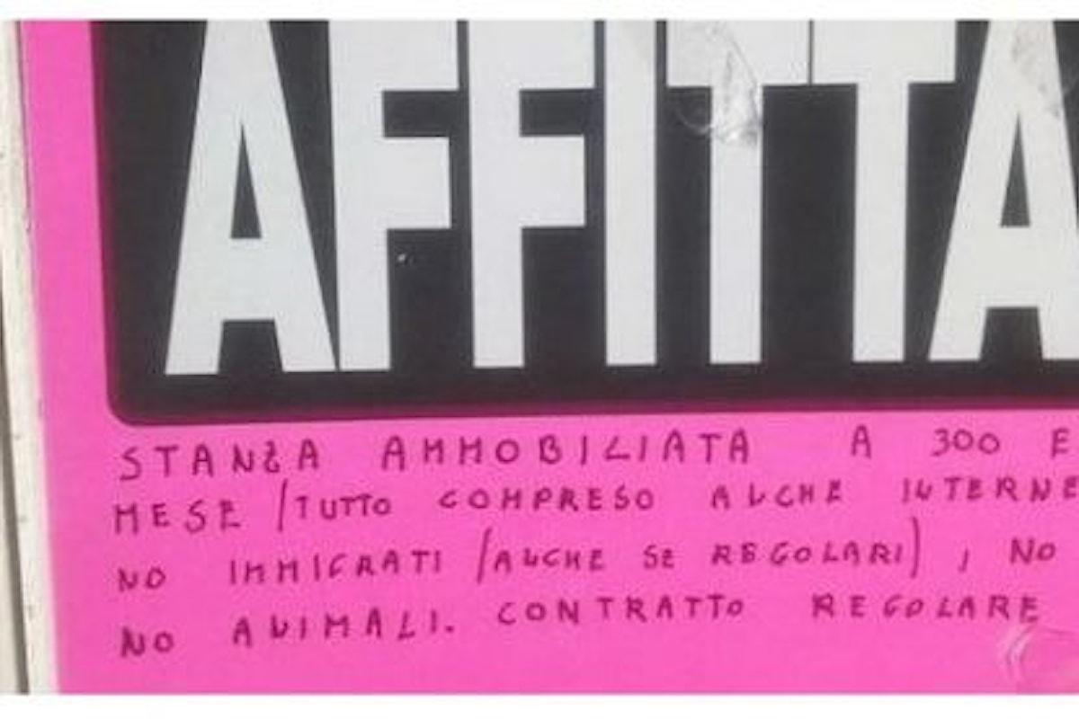 Stanza in affitto a Roma: No immigrati, No gay!
