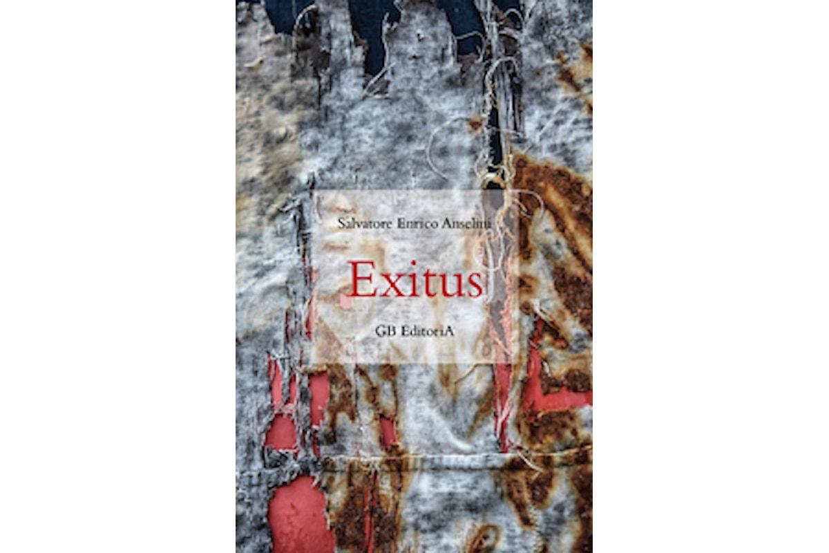 Presentazione del romanzo Exitus di Salvatore Enrico Anselmi il 6 dicembre a Roma