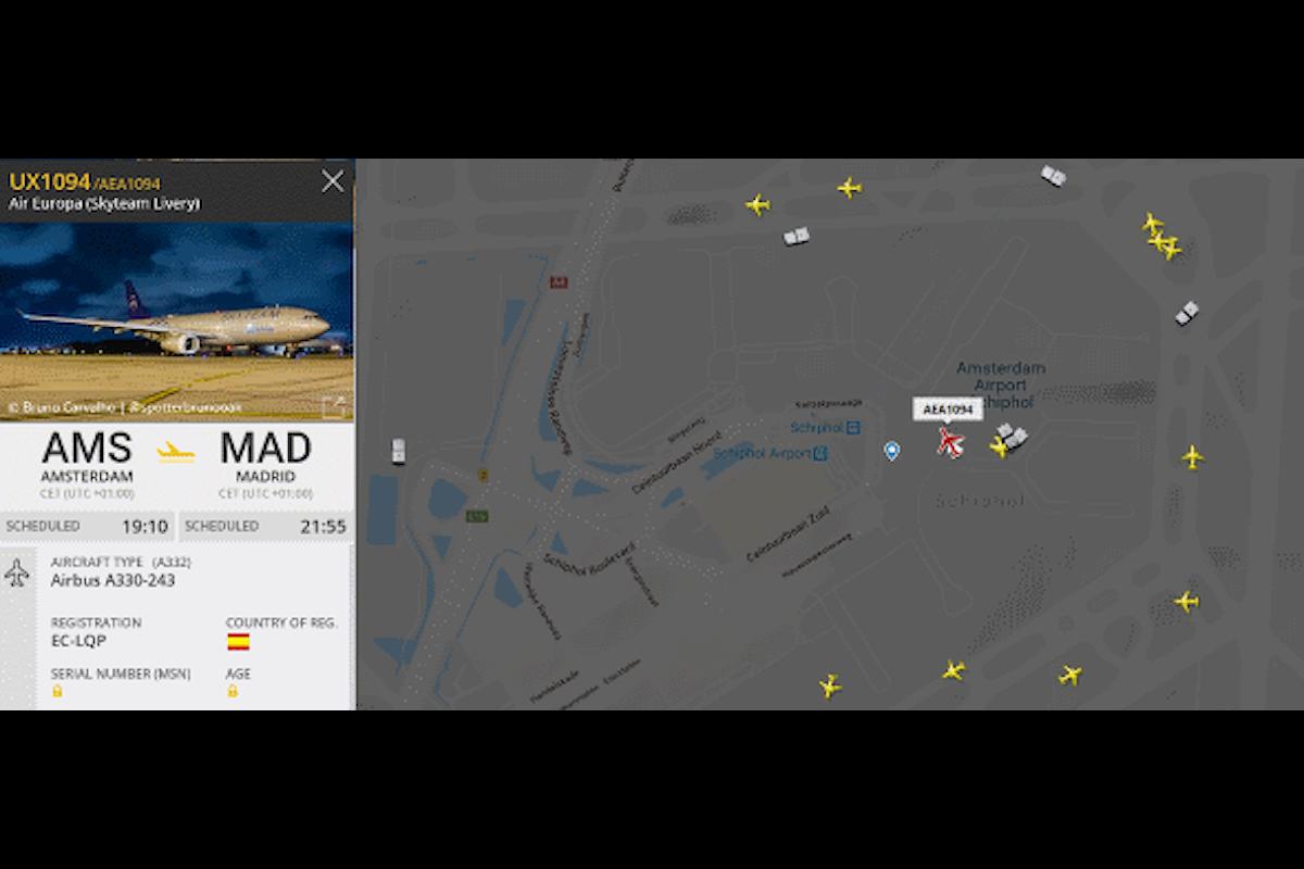Volo Air Europa: dirottamento in corso ad Amsterdam, ma...