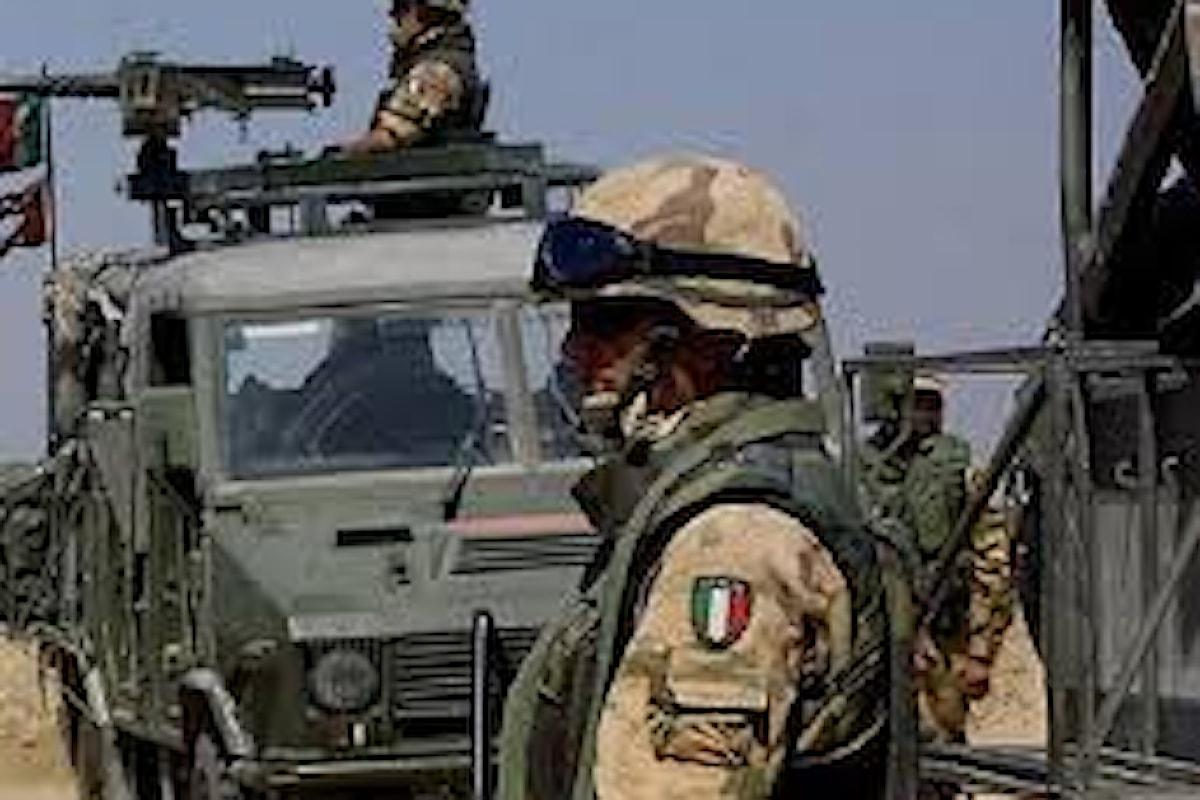Iraq, sono stabili le condizioni dei 5 militari italiani feriti