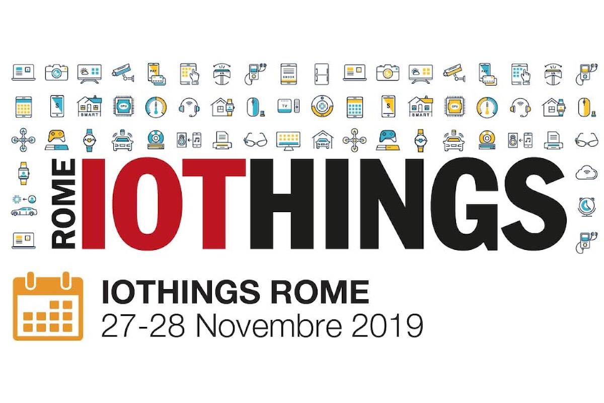 IoTHINGS Rome 2019   AI e Mobility tra i temi in agenda
