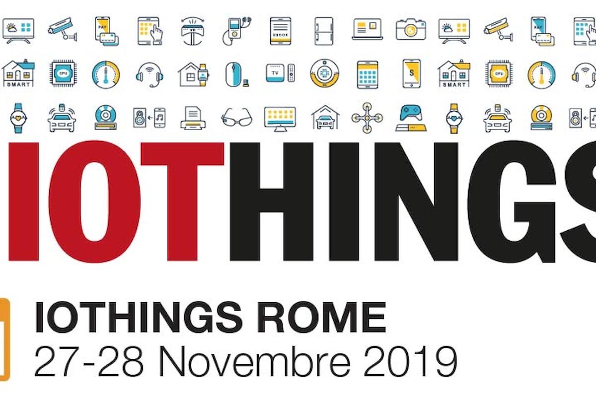 IoTHINGS Rome 2019 | AI e Mobility tra i temi in agenda