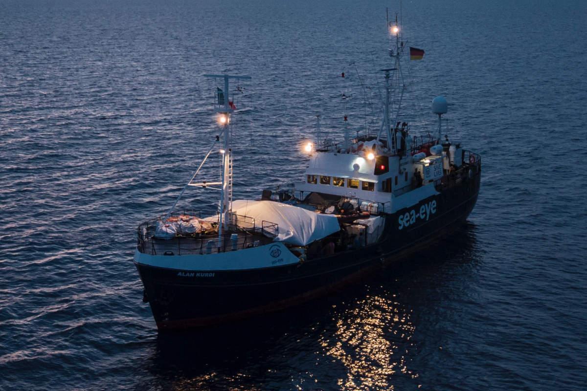 Alla Alan Kurdi assegnato Taranto come porto sicuro