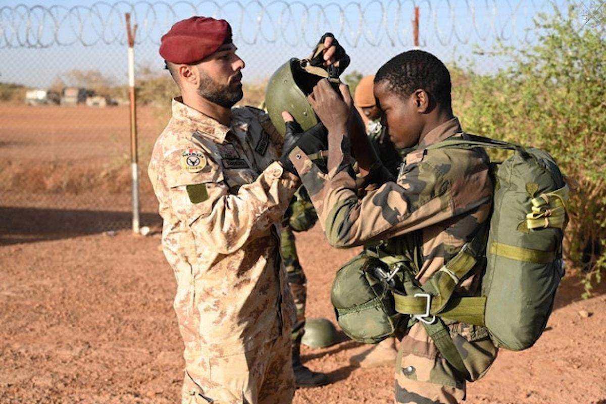Niger, i Parà della Folgore portano a termine l'esercitazione Zabù 2019