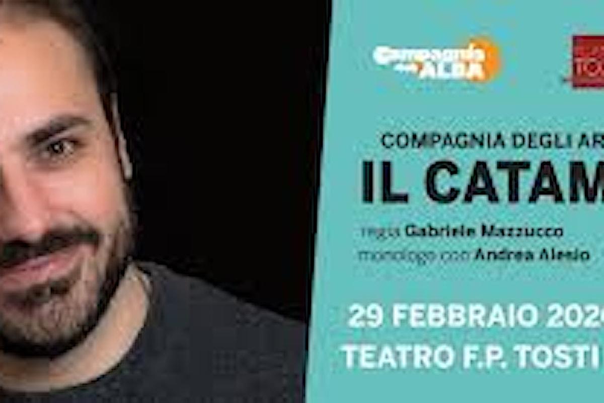 """Andrea Alesio attore e """"Il Catamarano"""""""