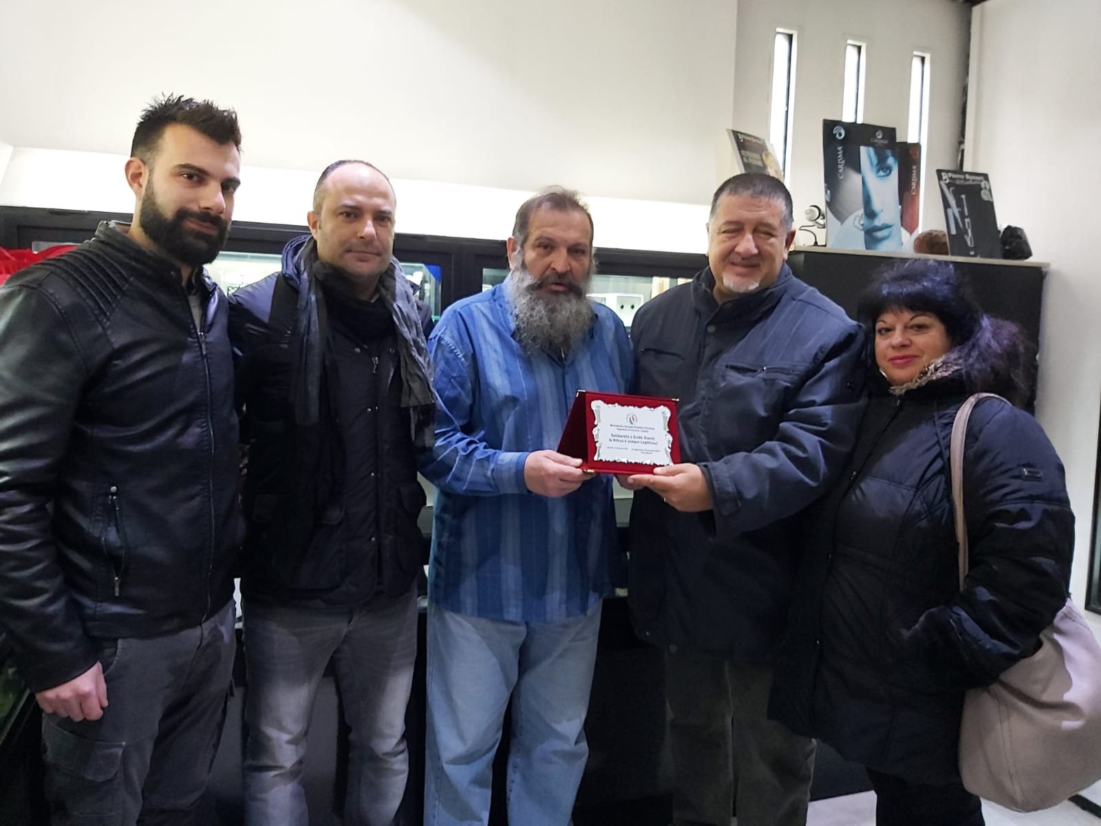 Il Movimento Sociale FT incontra il Sig. Gianni, condannato dopo essere stato vittima di una rapina