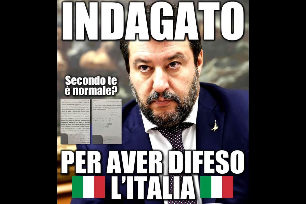 Salvini indagato per il sequestro di 131 migranti a bordo della nave Gregoretti