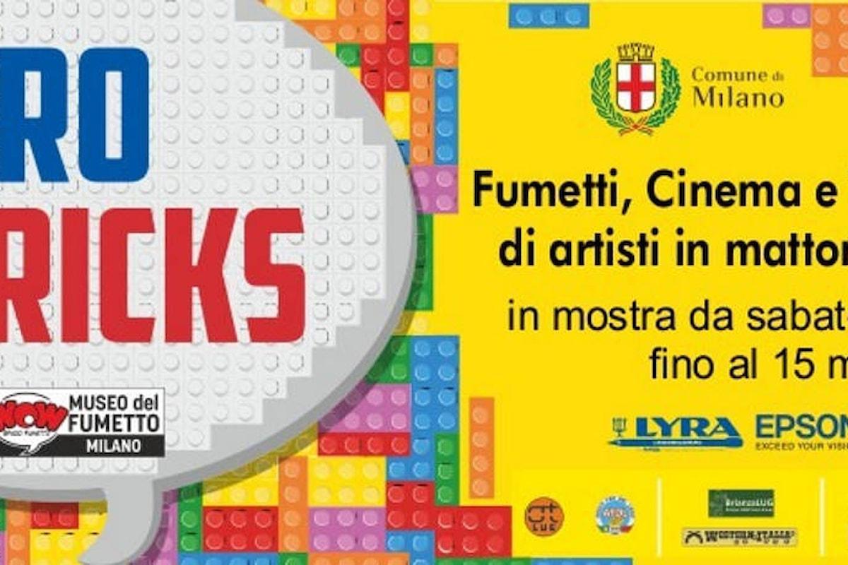 Il Lego interpreta gli eroi dei fumetti e dei film: mostra imperdibile a Milano