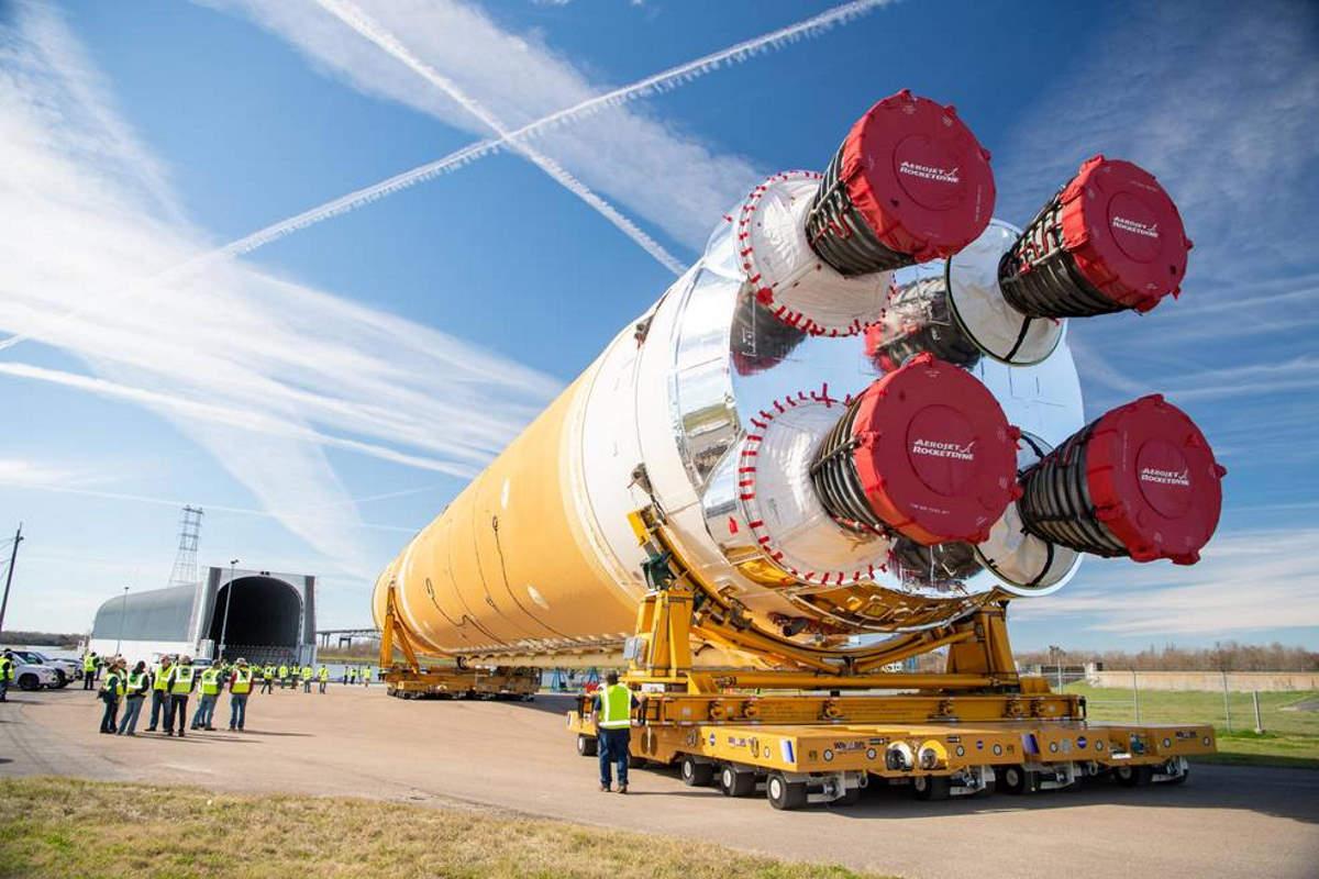 L'SLS che contribuirà a portare di nuovo l'uomo sulla Luna è pronto per la fase di test