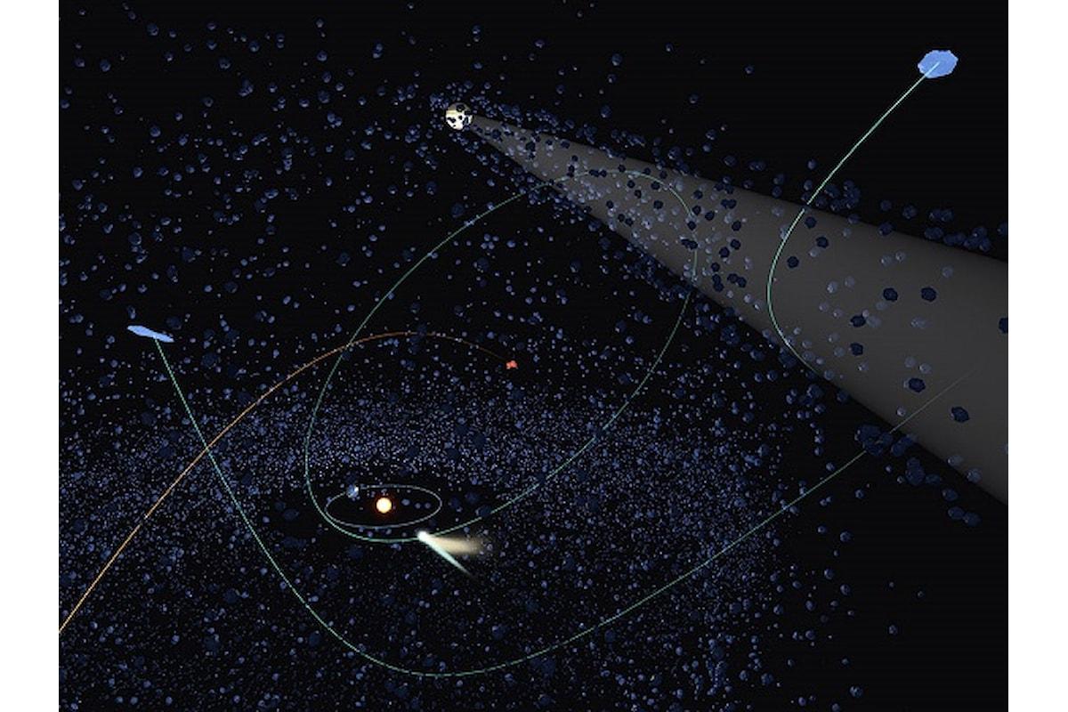 Alcune comete sono realmente aliene
