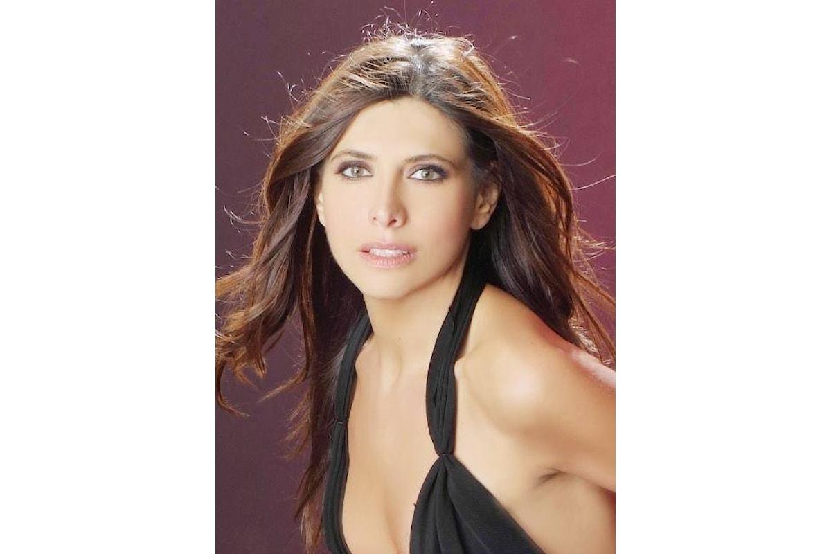Emanuela Tittocchia ad un importante evento a Sanremo in qualità di direttrice artistica