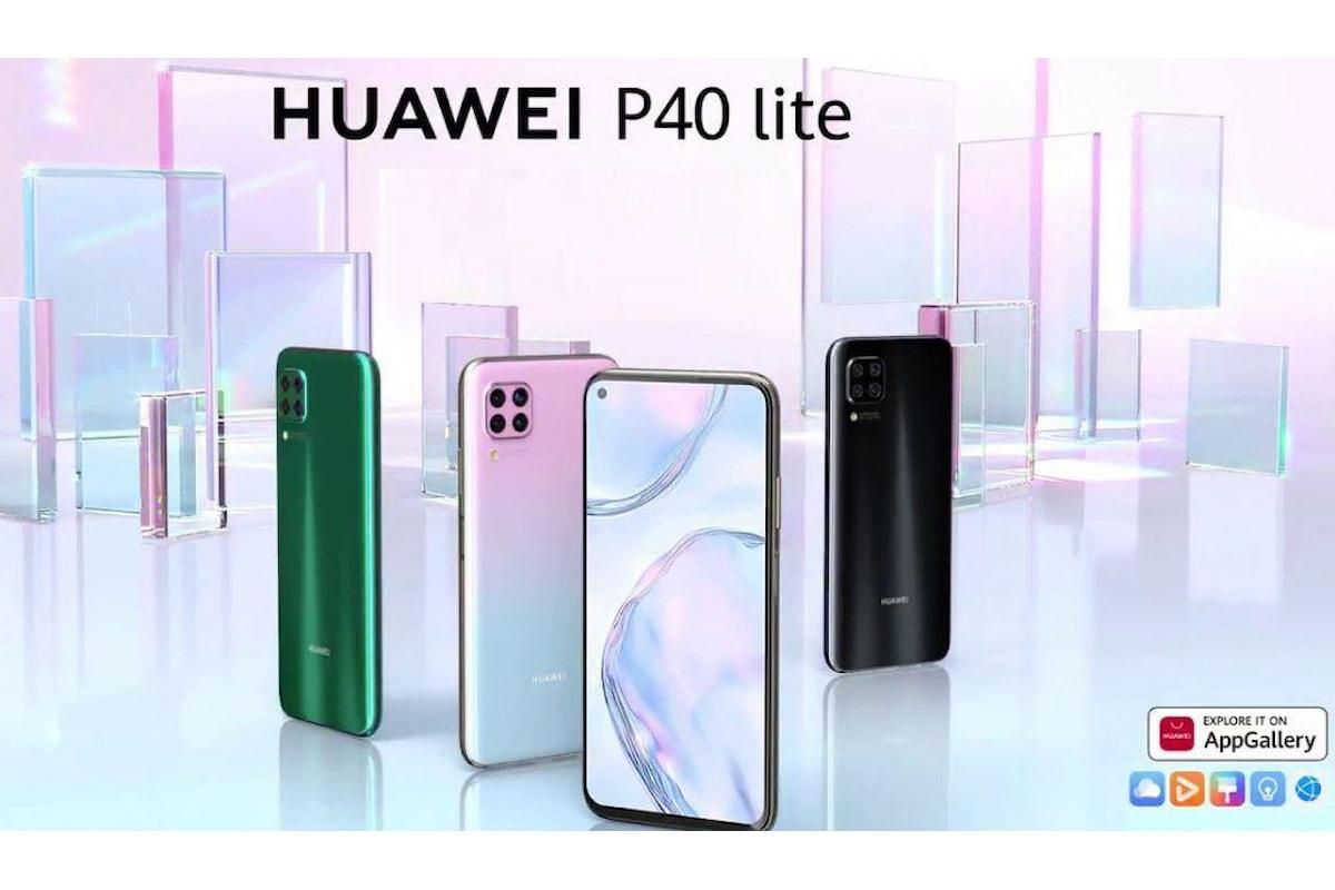 Huawei P40 Lite presentato ufficialmente