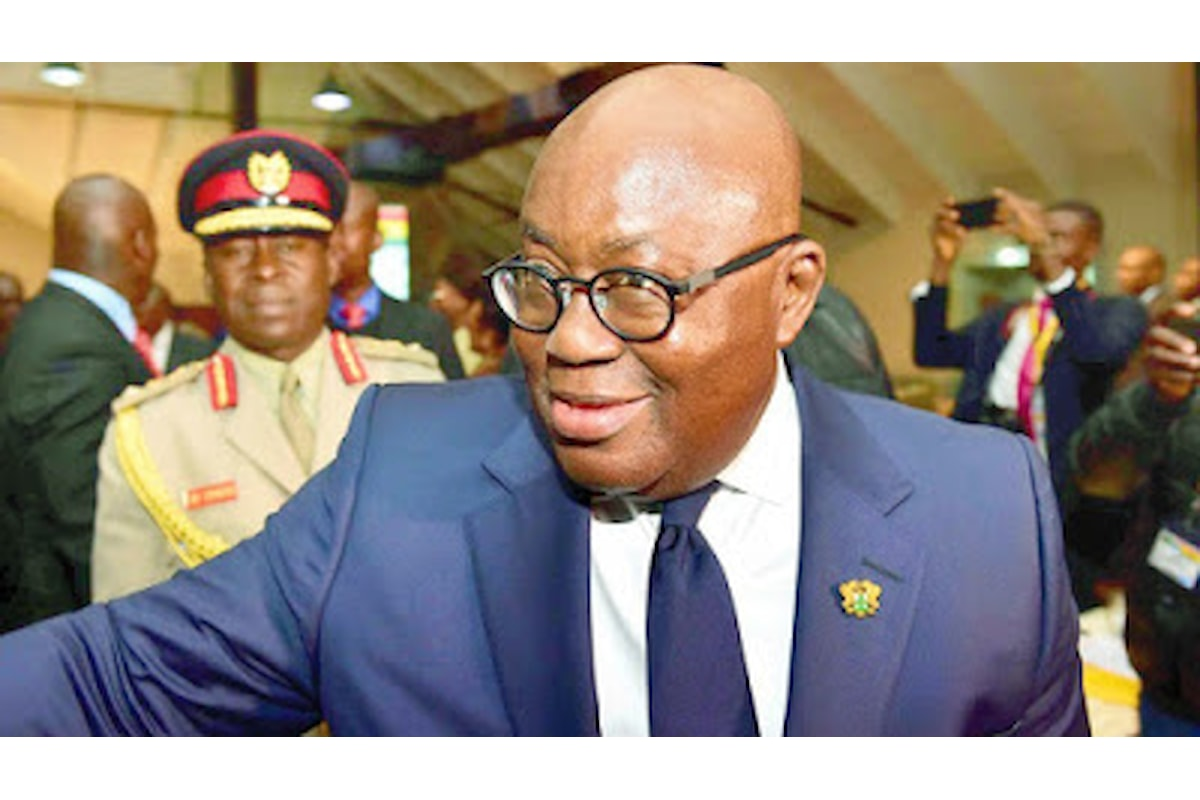 Which one is easier to say, Akufo Addo is corrupt or a thief?