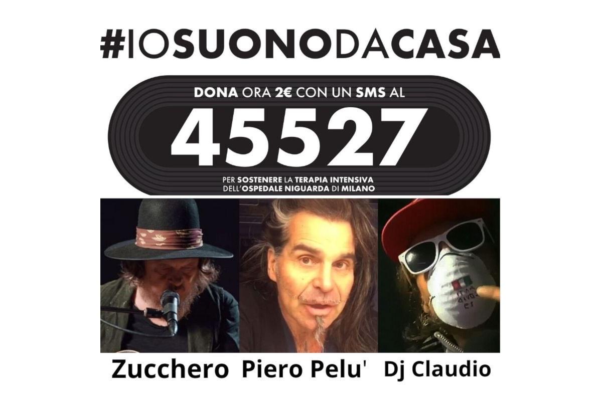 #iosuonodacasa la musica al tempo del CoronaVirus da Piero Pelu' al Dj Claudio Ciccone Bros
