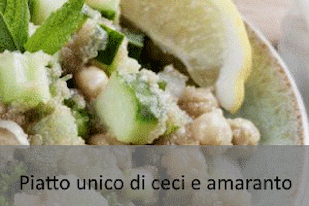 Piatto unico di ceci e amaranto - Ricetta senza #Glutine