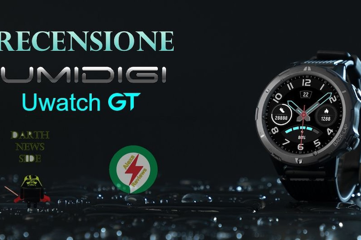 UMIDIGI Uwatch GT: recensione di uno smartwatch economico, ma interessante e con un'ottima autonomia