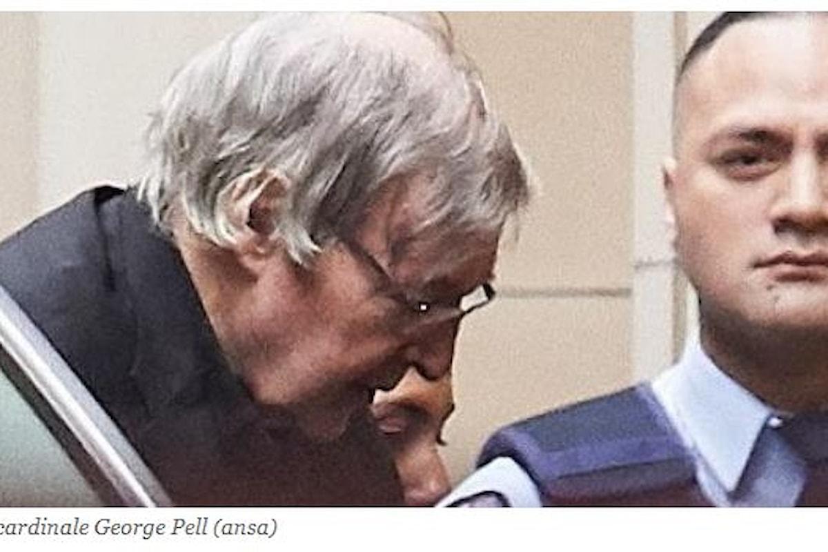Pedofilia vaticana: dopo 2 anni prosciolto il cardinale Pell