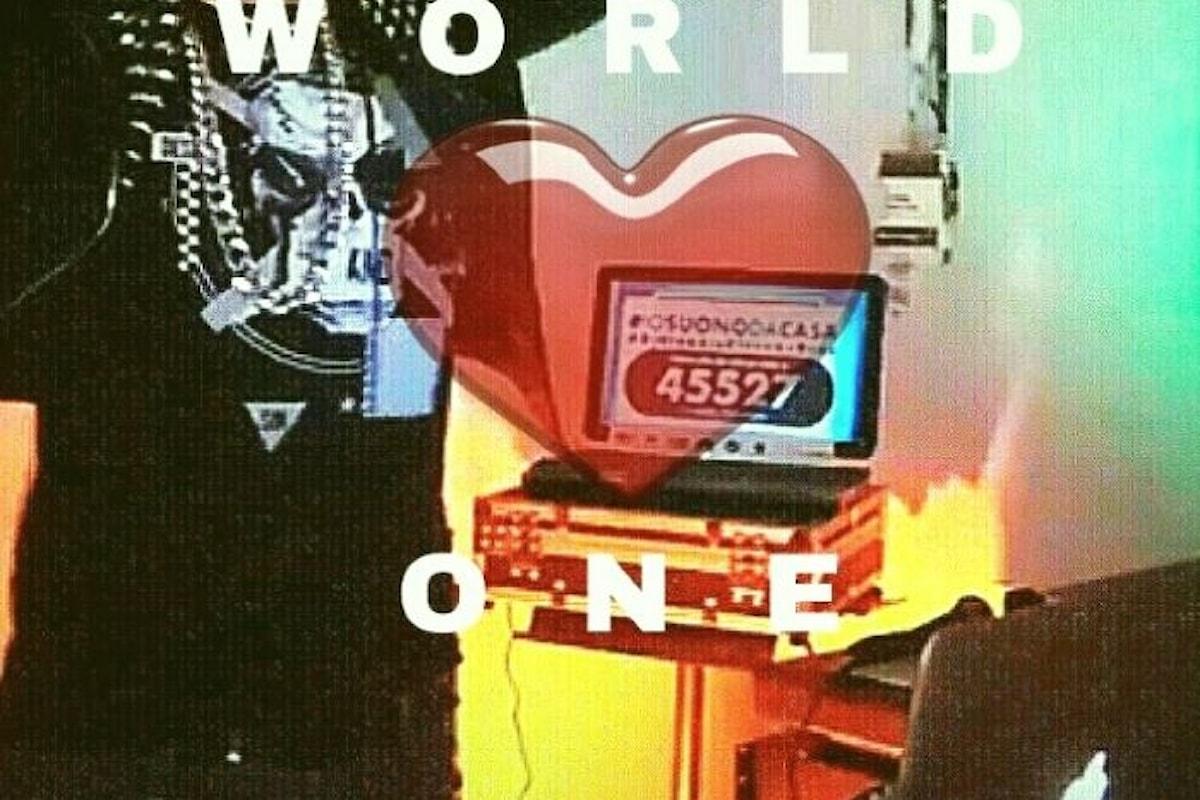 One World: Together At Home, da Lady Gaga al Dj Claudio Ciccone Bros.Tutti Insieme Da Casa-Global Citizen Festival:One Love #Against #Covid19