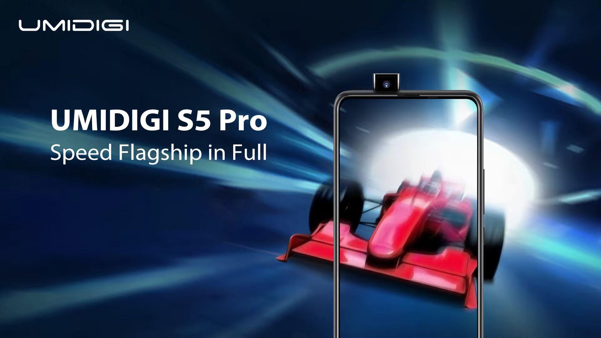 UMIDIGI S5 Pro: il nuovo flagship di UMIDIGI verrà presentato globalmente l'8 aprile