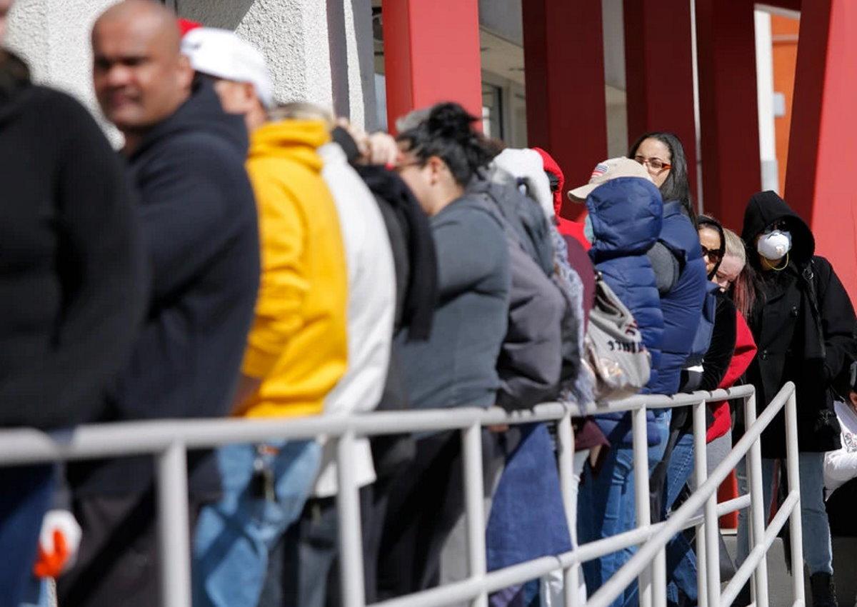 Dopo 2 settimane altri 6,6 milioni americani sono senza lavoro a causa del coronavirus