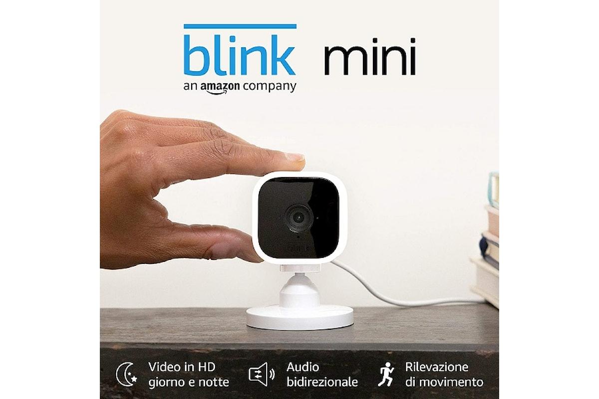 Blink Mini è la videocamera di sicurezza più economica di Amazon