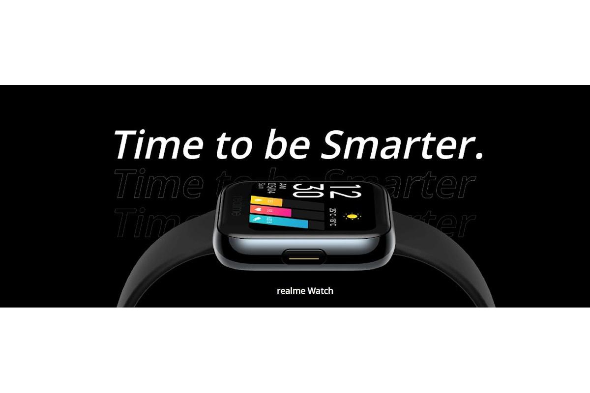 Realme Watch presentato ufficialmente: uno sportwatch molto interessante... anche grazie al suo prezzo
