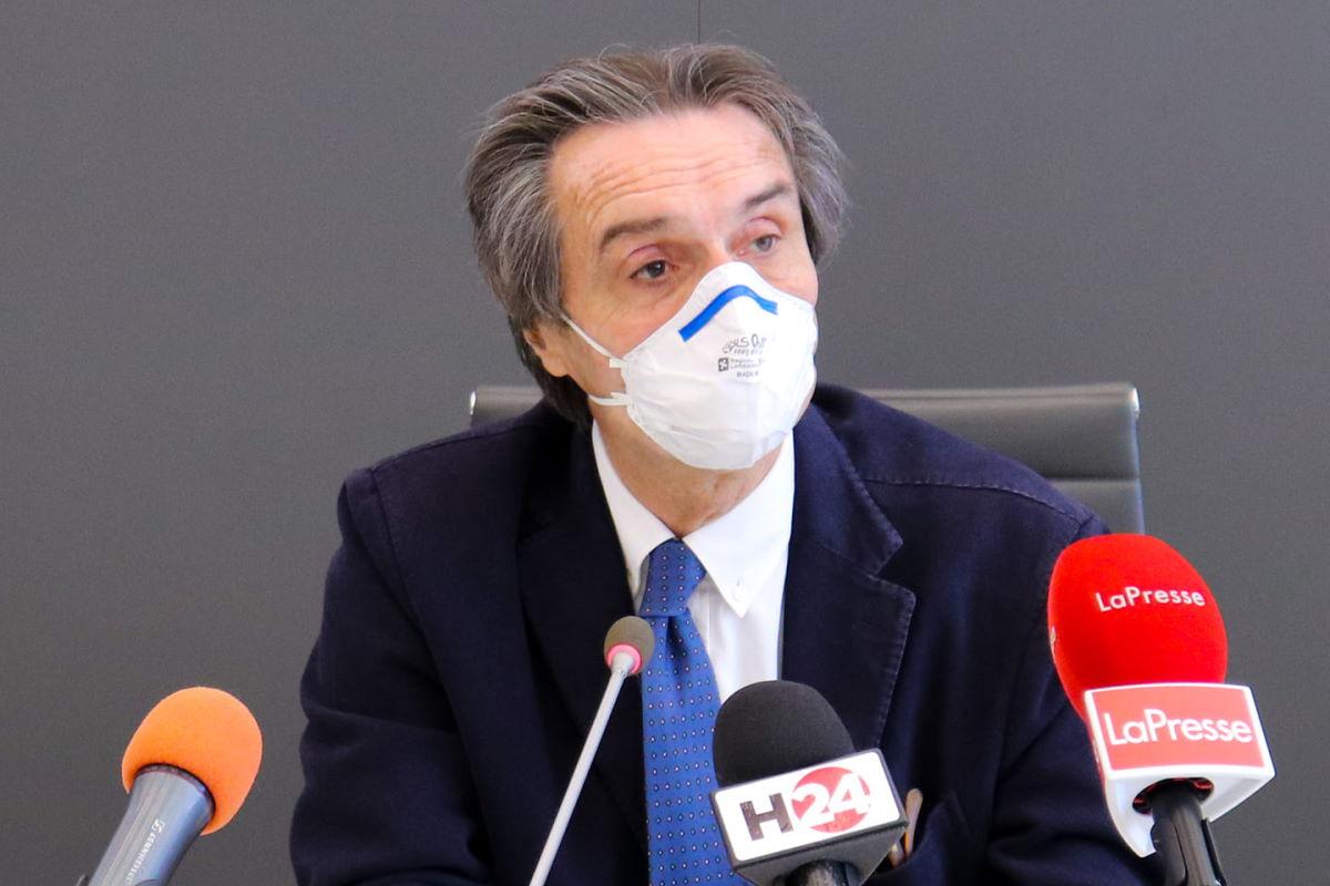 La soddisfazione di Attilio Fontana perché in Lombardia il contagio da Covid è stato contenuto bene